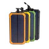 2017 10000mAh 이동할 수 있는 지능적인 전화 LED 가벼운 램프 플래쉬 등을%s 가진 셀룰라 전화를 위한 태양 휴대용 힘 은행 충전기