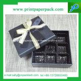 Коробка изготовленный на заказ подарка коробки упаковки картона красного бумажная