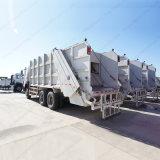 HOWO 압축기 트럭 16cbm 수용량 졸작 쓰레기 트럭