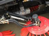 JAC 6 der Rad-LHD Straßen-Kehrmaschine-LKW Vakuumkehrmaschine-des Fahrzeug-4X2