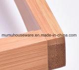 Cassetto di bambù dell'organizzatore della vasca da bagno