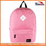 Form-rosafarbener Schule-Arbeitsweg-Rucksack-Beutel für Dame