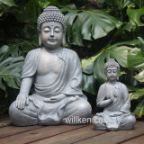 정원 훈장을%s Buddha를 앉는 옥외 Ployresin