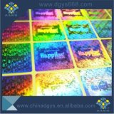 Progettare l'autoadesivo per il cliente del laser dell'ologramma con il marchio dell'azienda