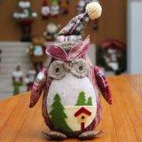 Noël de hibou de cerfs communs de musc de décoration d'usager ornemente le jouet