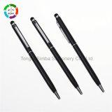Papeterie bon marché de bureau de crayon lecteur d'aiguille de stylo à bille en métal pour le cadeau promotionnel