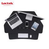 """Loctek 41 """" 넓은 플래트홈 고도 조정가능한 서 있는 책상 라이저, 워크 스테이션은, 앉 서 있다 워크 스테이션, 검정 (MT101C)를"""
