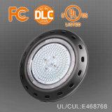Almacén interior del dispositivo ligero de Highbay que enciende luz industrial impermeable de la bahía del UFO LED de Dimmable 250W 200W 100W 60W 150W del sensor 130lm/W la alta