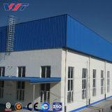Diseño de Construcción de acero de luz Taller de prefabricados de gran almacén de la estructura de acero Span