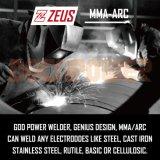 Saldatore della Arco-Forza della saldatrice dell'invertitore di MMA 180AMP con il certificato del Ce