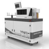 Kanal-Zeichen-verbiegende Maschine für doppeltes gefaltetes Aluminiummaterial