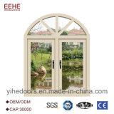 Heißes Verkaufs-Doppelverglasung-Aluminiumflügelfenster-Fenster mit dem 1.2mm Profil