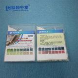 Venta caliente Lab 100 tiras de papel de prueba de pH de 2 colores lh3103