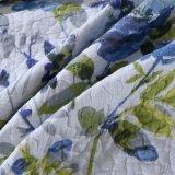 Baumwollfüllende Steppdecke-Sprung-Blume gedruckte waschende Steppdecke