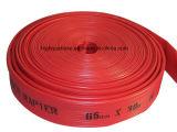 Legt de Rubber Duurzame Brandslang van Brandslang van de hoge druk, Vlakke Slang