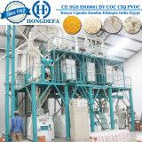 Máquina de moagem de milho no Quénia, o processo de produção de farinha de milho