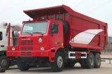 40-50tons를 위한 Sinotruk HOWO 상표 광업 덤프 트럭 쓰레기꾼 트럭