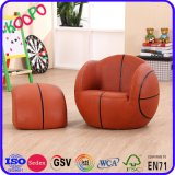 Fashion Home Children Furniture/Basketball Leather Othoman Sofa and (SXBB-27-02)