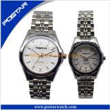 Horloges Van uitstekende kwaliteit van het Paar van het Kwarts van de manier de Waterdichte Mooie Zwitserse