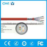 LAN van de Kabel van Ethernet Cat7 RJ45 het Koord van het Flard van het Netwerk van Gigabit van de Hoge snelheid van de Kabel