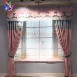 Quarto de suspensão com gancho Luxuriant moderno da sala de visitas dos Draperies da decoração da cortina de indicador das cortinas do escurecimento
