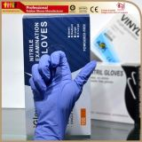 Нитриловые перчатки медицинского класса порошок свободного Ce