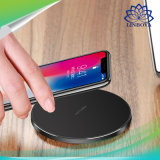 Qi Wireless cargador rápido Indicador LED 10W cargador rápido para el iPhone 8 / 8 Plus / Samsung Galaxy S8/S8 Plus Cargador de teléfono Universal