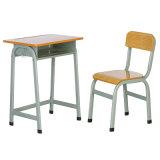 연구 결과 고도 조정가능한 단 하나 학교 가구 가격을%s 목제 학생 책상과 의자 교실 책상 세트