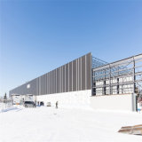 Пакгауз стальной структуры термоизоляции полуфабрикат в холодных зонах