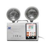 Indicatore luminoso Emergency della lampada ricaricabile gemellare LED del punto