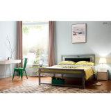 Base di cuccetta d'acciaio del metallo della camera da letto del banco moderno della mobilia