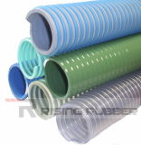 Bomba de agua de la hélice de PVC flexible, manguera de aspiración con alta calidad