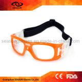 Vidrios de goteo del fútbol de los rasguños del OEM de la fábrica del ojo del baloncesto protector a prueba de choques anti del deporte