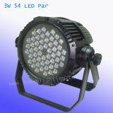 3W 54 RGBW imprägniern LED-NENNWERT Licht
