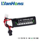 7.4V 1800mAh Li-Polymeer Batterij voor Hydraulische Reus