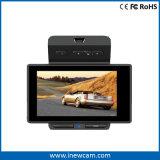 Mini câmera esperta do traço do carro DVR do monitor do estacionamento 1080P com G-Sensor GPS
