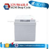 Gute Qualitätssolarbatterie-Gel-Batterie 12V 50ah