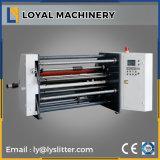 Revestidos de alta precisión de corte de papel de arte de la máquina de rebobinar