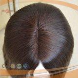 Peluca judía de Sheitel del pelo europeo de la Virgen (PPG-l-0548)