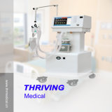 Trole médico profissional do ventilador do hospital Thr-AV-2000b2