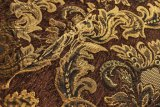 Tessuto di tessile del jacquard del Brown con il rivestimento (FTH31180A)