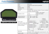 N908 Dash Race Kit de capteur d'affichage, écran LCD de planche de bord; faisceau de fils, compteur de jauge