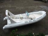 Barco inflable rígido de la costilla de China de la pesca de goma de Liya los 20FT (HYP620A)