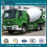 Sinotruk HOWO 6X4 371HP 10m3 구체 믹서 펌프 시멘트 트럭