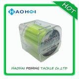 моноволокна прочности Fluo Hi-Визави 1/8lb линия желтого сильного удя