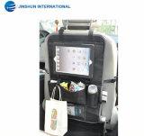 Устроитель заднего сиденья автомобиля циновки пинком малышей Multi-Карманн устроителя хранения автомобиля вися с держателем таблетки