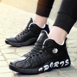 Zapatos del negro del baloncesto de Alibaba Desgastar-Que resisten para los zapatos de baloncesto de los hombres