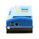 Contrôleur intelligent solaire Ys-20A/30A/40A/50A de câble d'ordinateur de MPPT 12V/24V Ys485