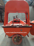 Bateau de sauvetage rapide marin approuvé de SOLAS avec le moteur installé dans la cale