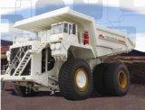 Terex roue électrique modèle de camion à benne minière nte200